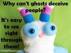 cute & clean ghost kids joke for children featuring an adorable monster :) Bad Dad Jokes, Kid Jokes, Jokes And Riddles, Corny Jokes, Jokes For Kids, Funny Things, Funny Stuff, Grammar Humor, You Make Me Laugh