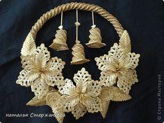Поделка изделие Плетение Моя соломка Соломка фото 7