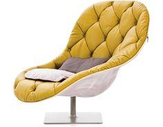 bohemian tall armchair - Moroso