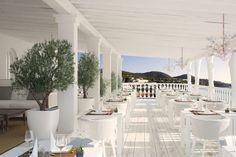 Ibiza style..Restaurant interior design inspiration byCOCOON.com #COCOON Dutch designer brand. >Cotton Beach Club, Ibiza<