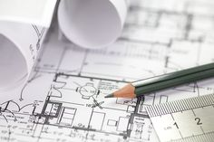 Architect rolls and plans construction project drawing Royalty Free Stock Photo. Get thrilling discounts on images, illustrations, Videos and music clips at iStockphoto with Coupon. Dry Erase Paint, Professional Landscaping, Architecture Portfolio, Home Additions, Creative Kids, House Floor Plans, New Construction, Home Builders, Planer