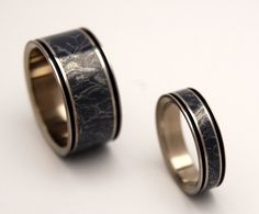 Arthur and Gwen's rings. Perfect for the wedding of those who are total trash for BBC's Merlin. Or, you know, just something nice to get your boyfriend/girlfriend/whoever if one or both of you are iffy on the whole couple tattoos thing.