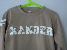 Name Tee. Xander.