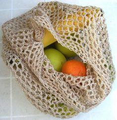 Crochet Grocery Bag