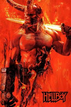 Based on the graphic novels by Mike Mignola, Hellboy (David Harbour) must battle an ancient sorceress (Milla Jovovich) bent on revenge. Hd Movies, Movies To Watch, Movies Online, Movies And Tv Shows, Movie Tv, Movie Cast, Movie Blog, Mike Mignola, Milla Jovovich