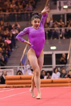 I love Laurie Hernandez's personality in her floor routine!
