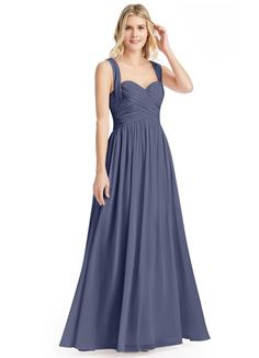 60c0780a91 AZAZIE CAMERON Dusty Blue Bridesmaid Dresses