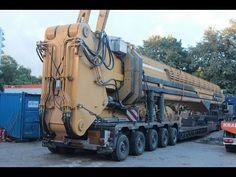 Caterpillar 5110B HRD88 dismantling worlds largest demolition excavator ...