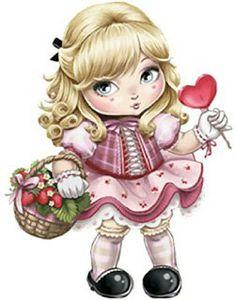 Girl with lollipop Illustration Mignonne, Cute Illustration, Adorable Petite Fille, Image 3d, Art Mignon, Image Digital, Cute Owl, Digi Stamps, Illustrations