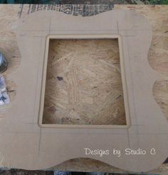 how to make a large swirly frame 2049