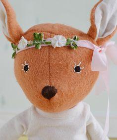Hazel Village Fawn with Flower Crown | Darling Clementine