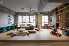 Apartamento com espaço para crianças