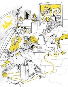 """""""Psssssssst..."""": Brochure for Nasjonalgalleriet - marikajo.com"""