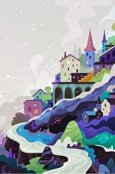 batasigualada.cat: Lovely illustrations: Becca Stadtlander, Zutto, Aurelie Guillerey i Makoto Muramatsu