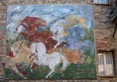 Mugnano. Umbria - il paese dei Muri Dipinti