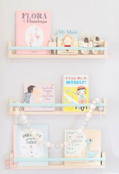 Zainspiruj się: półki w pokoju dziecka. Przeróbki prosto z IKEI. DIY | Kreatywny Świat Lescilsa