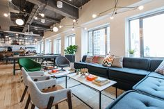 WeWork's coworking space in Brooklyn Heights