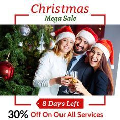 Christmas Mega Sale!! Great savings on digital marketing services: SEO, SMO, PPC, ORM, Content Marketing, Affiliate Marketing and many more to raise your business. Hurry up!!Only 8 days are left! Don't waste your time just visit on:  #woosper #digitalmarketing #onlinemarketing #branding #business #internetmarketing #seomarketing #contentmarketing #contentwriter #marketingservices #website #ranking #payperclick #socialmedia #canadadigitalmarketingservice #digitalmarketingagency #media