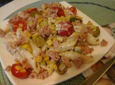 Spanyol-tonhalas-tésztasaláta4 Bbq, Tacos, Mexican, Chicken, Meat, Ethnic Recipes, Food, Barbecue, Barrel Smoker