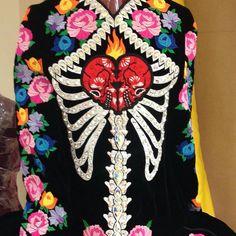 Day of the dead dress by gavin