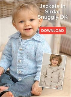 Free Baby Jacket Pattern A snuggly and versatile pattern, this easy to knit jacket is suitable for babies and any child up to 7 years. The pattern is avail