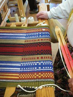 Dunning's Weaving Class by John C. Campbell Folk School, via Flickr