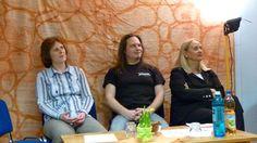 unsere drei special guests (v.l.n.r); Signe Brunner-Orawsky, Tim Scholl und Prof. Dr. Anneliese Wellensiek