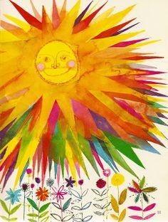 "A Child's Garden of Verses - ""Summer Sun"" | Illustrated by Brian Wildsmith, 1966"