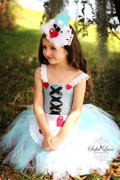 Alice in Wonderland coordinating  hairpiece