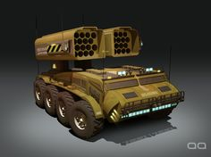 Missile Launcher Concept II, Alan Quiroz