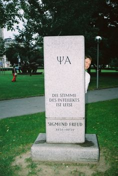 Freud`s tombstone... on my 40th b-day
