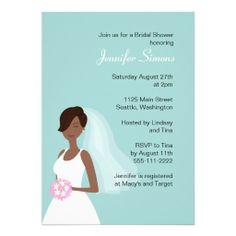 Chic Bride B Custom Invitations