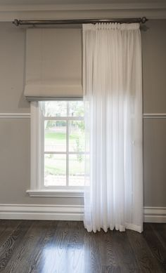 Dollar Curtains & Blinds Sheer Curtains & Roman Blinds #dollarcurtainsandblinds