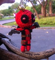 6$ Ninja Deadpool doll  Hey, I found this really awesome Etsy listing at https://www.etsy.com/listing/180997544/ninja-deadpool-doll-of-string-voodoo