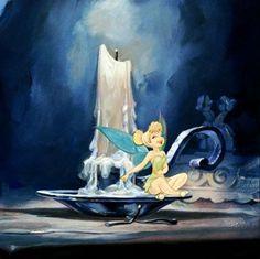Tinkerbell in Disney's peter pan