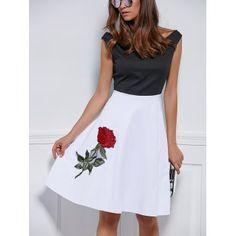 GET $50 NOW | Join Dresslily: Get YOUR $50 NOW!http://m.dresslily.com/v-neck-embroidered-splice-dress-product1568310.html?seid=vjItEfl76Kl894AGQIr6tn42GG