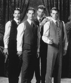 Ethan Hawke, Matthew McConaughey, Skeet Ulrich and Vincent D'Onofrio in The Newton Boys