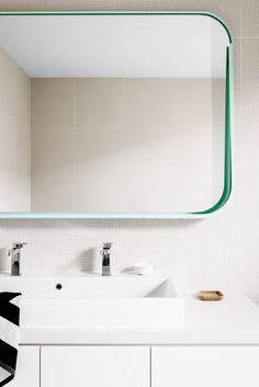 Residential Interior Design by Fiona Lynch Design Office, Hawthorn East House. Photography by Brooke Holm, styling by Marsha Golemac. Bathroom Toilets, Laundry In Bathroom, Budget Bathroom, Bathroom Renovations, Bathroom Ideas, Remodel Bathroom, Bathroom Photos, Modern Bathroom, White Bathroom