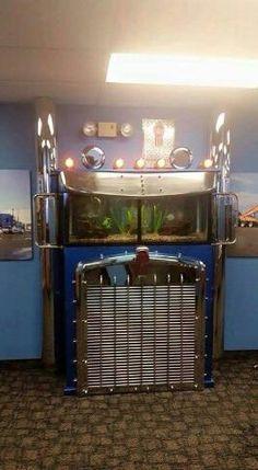 KW Truck fish tank..