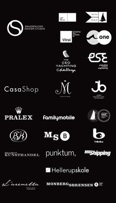 Misc. Logoe´s _ smussen.com   design