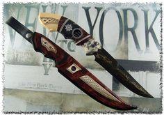 Knivar tillverkade av Jonny Walker Nilsson och Mattias Styrefors