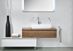 DIANA-Bad Aufsatzwaschtisch auf Möbel