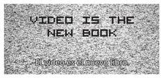 Dentro de la VII ed. de Inclasificables el domingo 23 de septiembre se proyectará : Video is the New Book en la Sala de proyección de la Biblioteca. Vii, Proposals, Authors, Domingo, Reading