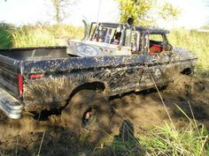 love the mud! Mud on the tires and stacks!!! My dreams