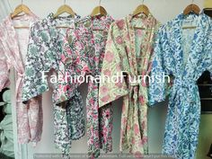 Cotton Kimono, Cotton Fabric, Floral Kimono, Cotton Bag, Winter Kimono, Bath Robes, Kimono Design, House Dress, Kimono Jacket