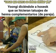 Mi sope :'D ❤ yoonseok Bts Memes, Kdrama Memes, Funny Memes, Jung Kook, Otp, Rap Lines, Blackpink And Bts, Bts Lockscreen, About Bts