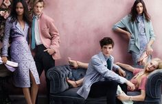 Images from the Burberry Spring/Summer 2014 campaign, shot by Mario Testino, casts British model Malaika Firth, also the face of Prada this season (the first black woman to hold the honour since Naomi Campbell in 1994), Matilda Lowther, Burberry exclusive Neelam Johal, Callum Ball, newcomer Jean Cambel and actor Jamie Campbell Bower as this season's bright young British things. See Burberry chief creative officer Christopher Bailey's BoF 500 page here.
