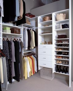 #Closet space and #organization from The Closet Doctor