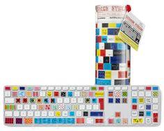 EMOTICON KEYBOARD STICKERS #keyboard #stickers