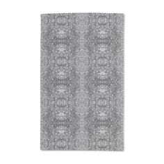 Uneekee Stained Gray Hand Towel